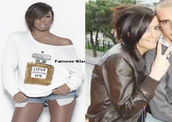 Dafina Zeqiri kopjon Kelly Rowland