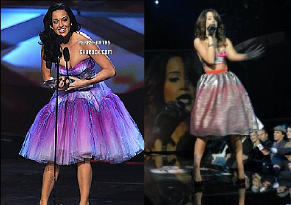 Dafina Zeqiri kopjon Katy Perry