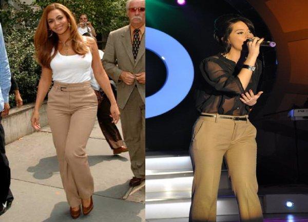 Dafina Zeqiri kopjon Beyoncé