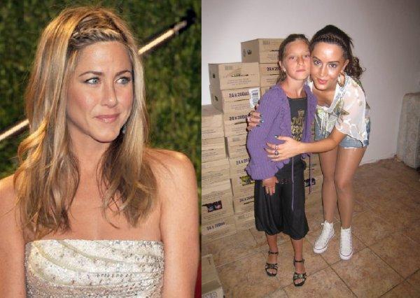 Dafina Zeqiri kopjon Jennifer Aniston