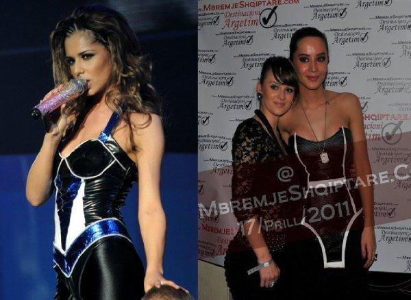 Dafina Zeqiri kopjon Cheryl Cole
