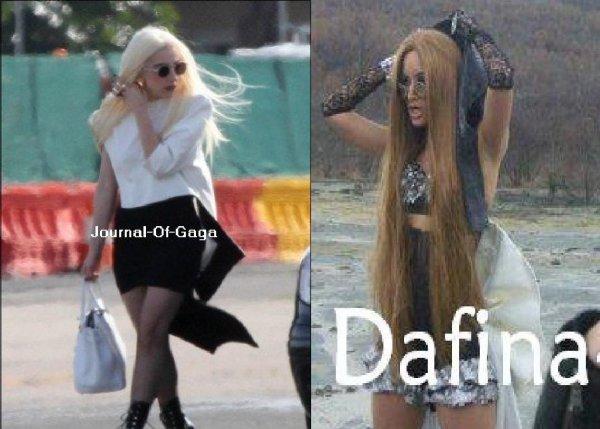 Dafina Zeqiri kopjon Lady Gaga