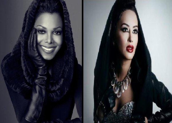 Dafina Zeqiri kopjon Janet Jackson