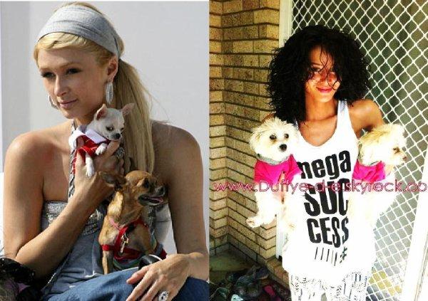 Hahahahaha.... Kishe Dafina si Paris Hilton :)