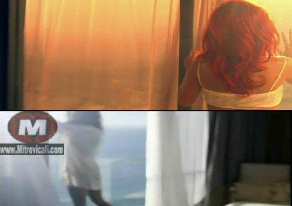 Dafina Zeqiri kopjon Videoklipin e Rihannes