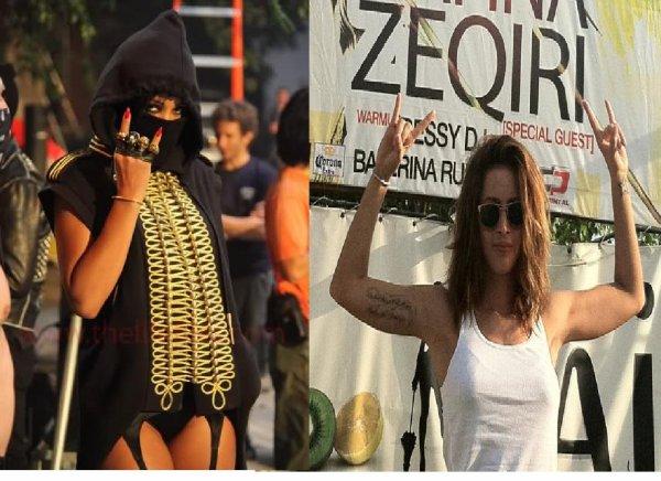 Rihanna dhe Lady Gaga jan anetaret te Illuminati !!!!