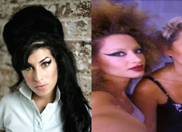 Dafina Zeqiri kopjon Amy Winehouse