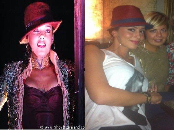Dafina Zeqiri kopjon Alicia Keys