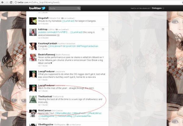 Per ata femije (fansat e Dafines ) qe nuk besojn qe Dafina eshte Illuminati !!!