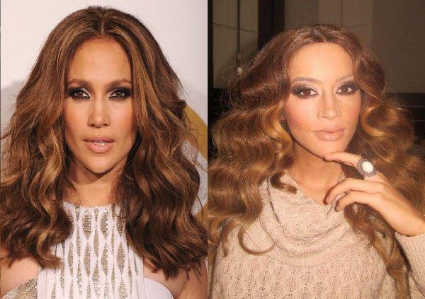 Dafina Zeqiri kopjon Jennifer Lopez