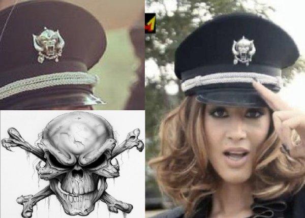 Dafina Zeqiri serish me symbole satanike !!
