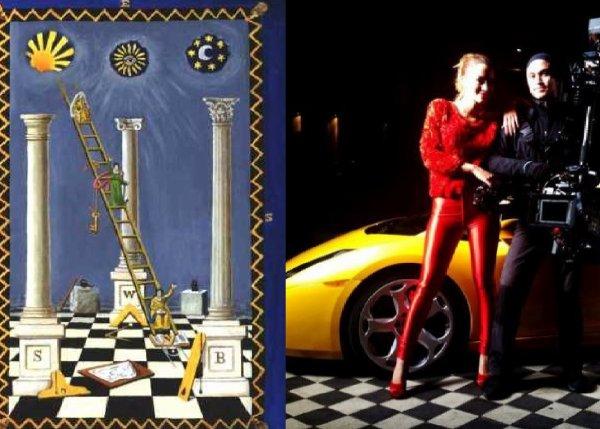 Vazhdojn symbolet Illuminati me Dafinen !!!