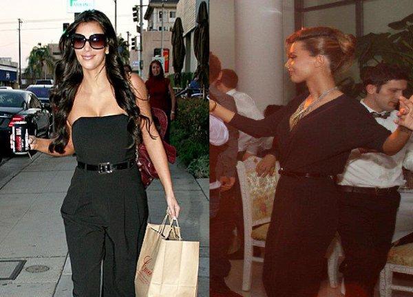 Dafina Zeqiri kopjon Kim Kardashian