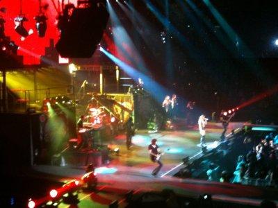 Concert à Melbourne en Australie (2)