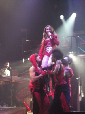 Concert à Perth en Australie