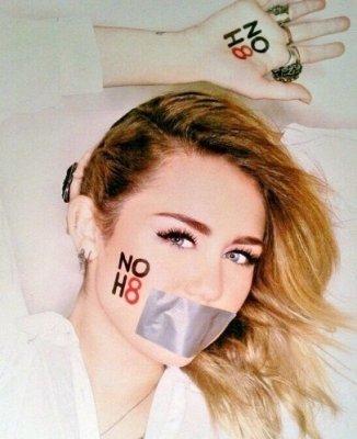 Photoshoot pour la campagne NOH8