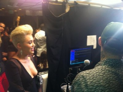 MTV Video Music Awards 2012 - Backstage