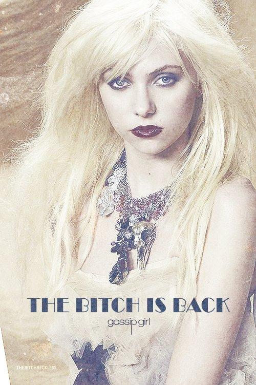 Taylor Momsen de retour sur le plateau de Gossip Girl