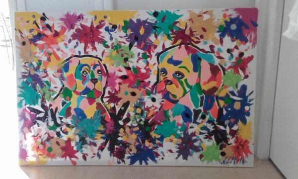tableau paintball c cool une journée pour jouer a la peinture