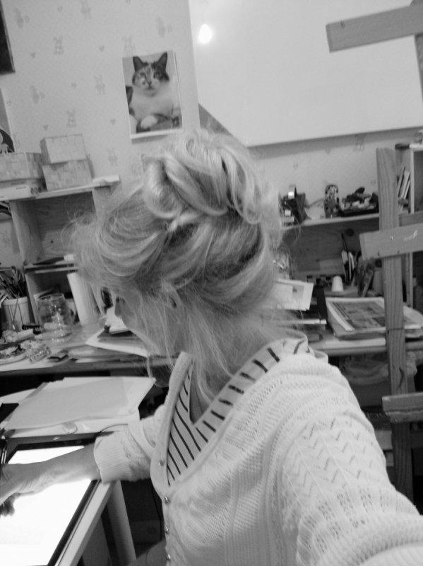 l' atelier ou je dessines ainsi que les histoires de mikouyou