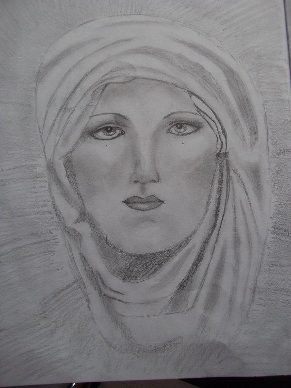 Femme voilée (n°2)