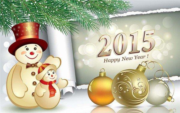 Nouvelle année , nouveaux voeux