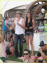 Coachela Festival:Nina and Ian!