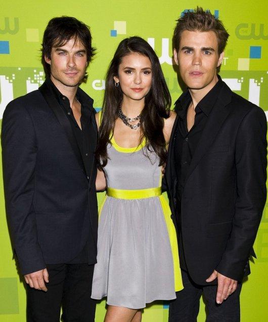 Nina,Ian et Paul aux CW Network Upfronts 2011 a NY