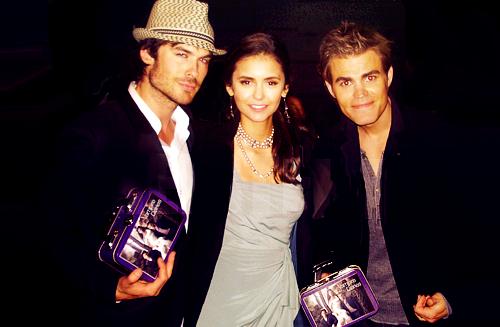 Nina et Ian à New-York!En couple?
