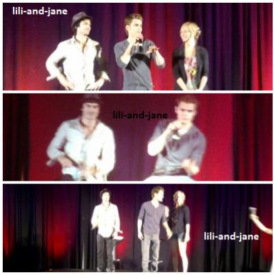 Paul, Ian et Candice à Barcelone !