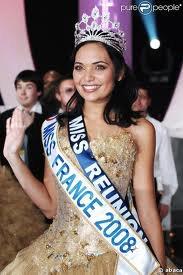 Valérie Bègue : Miss France 2008 ; Miss Réunion.