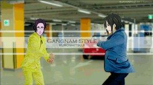 Gif Gangnam Butler xD