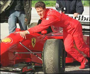 Schumi arrive chez Ferrari en 1996 : Un pari osé...