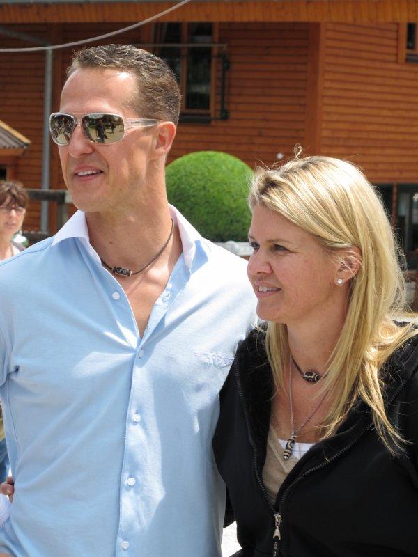 Michael Schumacher & sa femme