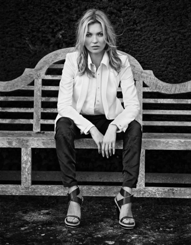 Kate Moss pour Rag & Bone Printemps-Eté 2013
