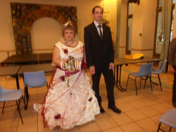 Notre mariage le 22 12 2012