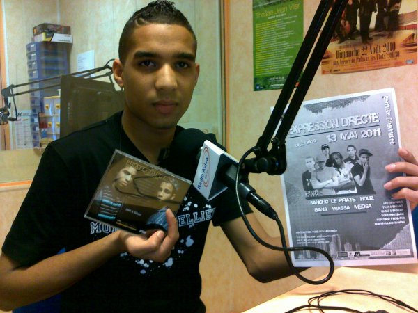 Abdel le pirate A RADiO AViVA 88.0 MONTPELLIER