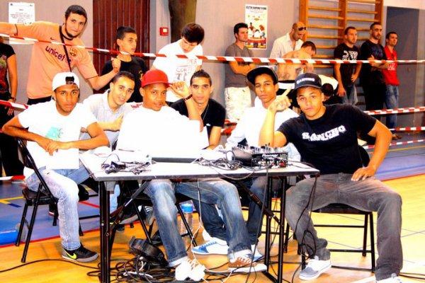 L'équipe a Là Coupe de France de Japan Kick-Boxing  ( Concert en cage en ouverture )
