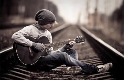 Like a guitar sound...