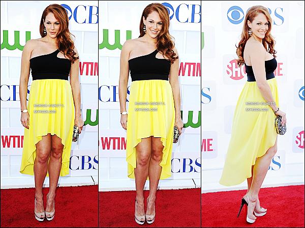 ___ 21/06/12 : Amanda était au«CBS Showtime's CWSummer 2012Tour»au Beverly Hilton Hotel. ___