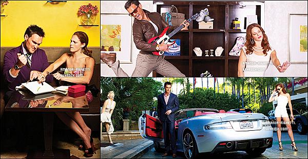 ___ Découvrez le photoshoot d'Amanda et de sa co-star Owain Yeoman pour Watch! Magazine. ___