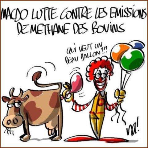 Mac do humour du jour - Vache dessin humour ...