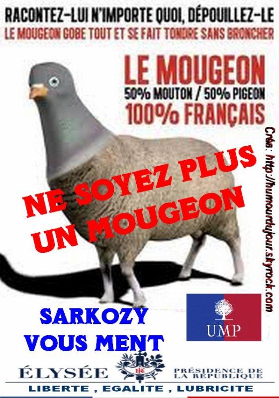 NE SOYEZ PLUS UN MOUGEON ! ! !