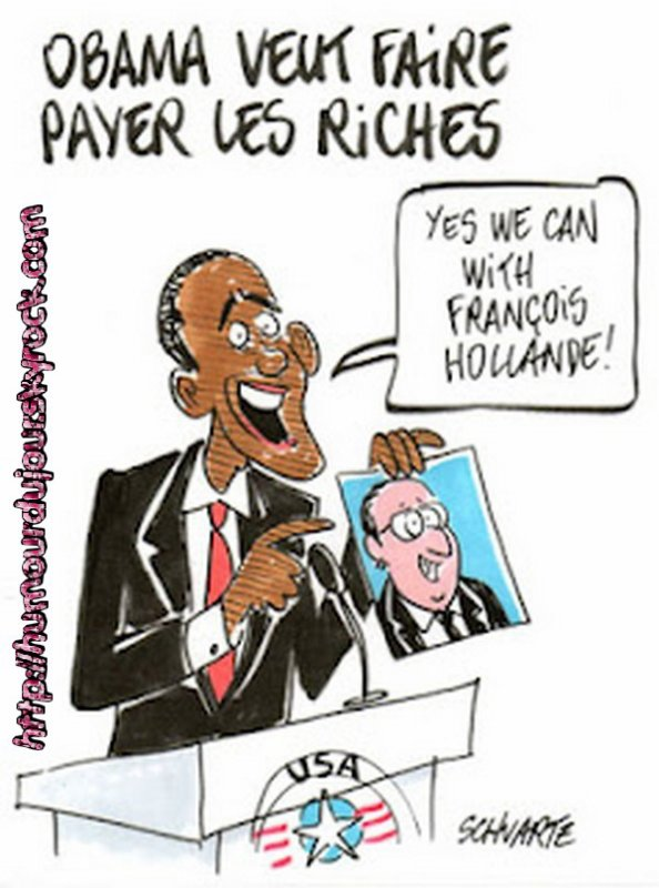 OBAMA COPIE FRANCOIS HOLLANDE