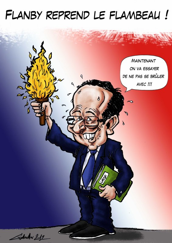 FRANCOIS HOLLANDE FACE A MERKEL !