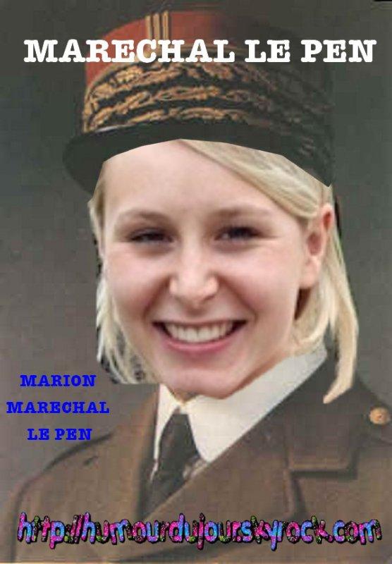 LE FN NOSTALGIE D'UN MARECHAL !