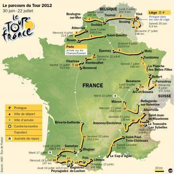 TOUR DE FRANCE 2012  /   C'EST PARTI