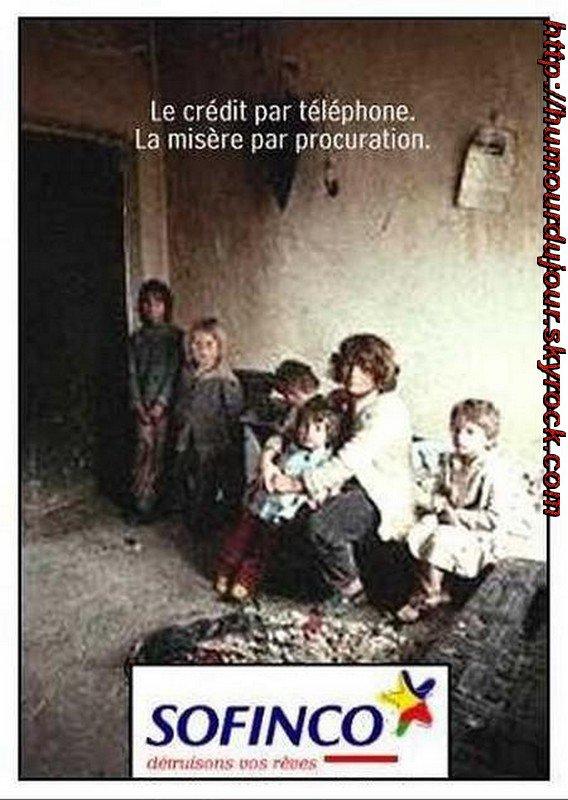 SOFINCO FILLIALE DU CREDIT AGRICOLE, RESPONSABLE DE 70% DES SURENDETTEMENT EN FRANCE