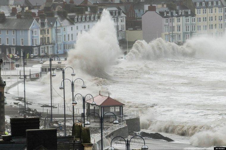 tempête en Cap Sizun - Le Loch Primelin et Plogoff en Finistère