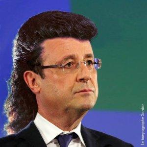 LE REVE CAPILLAIRE DE FRANCOIS HOLLANDE